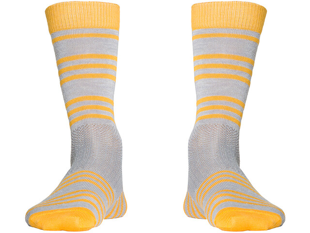 Röjk Everyday Merino Socks sea buckthorn stripe